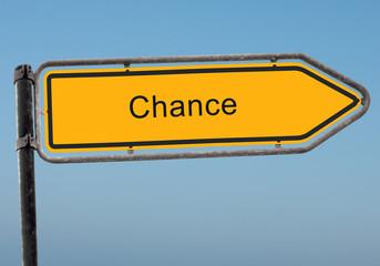 Strassenschild 38 - Chance