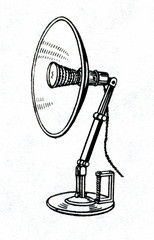 Infrared lamp for phototherapy
