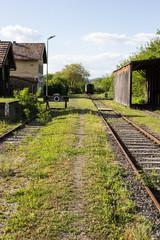 Closed train station