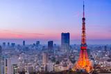 Fotoroleta Tokyo Tower, Tokyo, Japan
