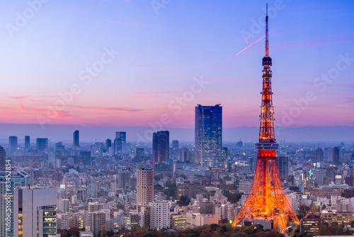Tokyo Tower, Tokyo, Japan Poster