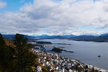 view in norway