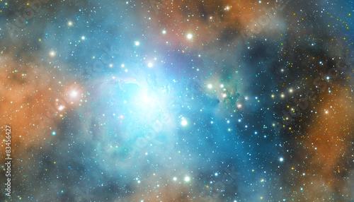 Stellar system in deep universe.