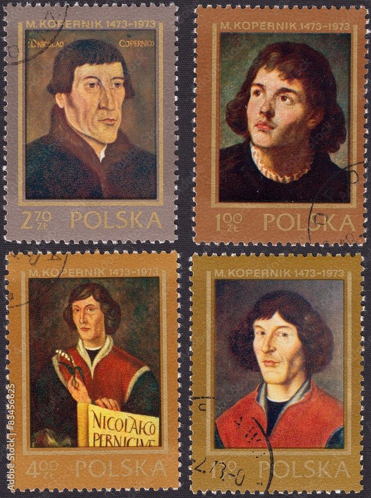 Obraz Płótno Mikołaj Kopernik Polski Astronom Wally24pl