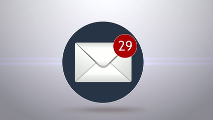 concept of spam email