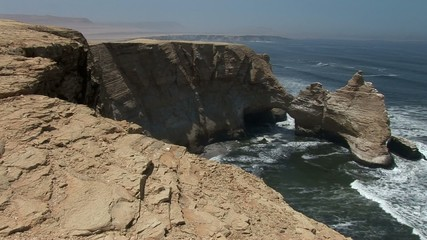 So called Cathedral: Paracas National Park,  Peru