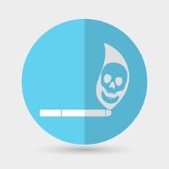 Cigarette icon on a white background