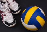 Fototapeta Volleyball objects.