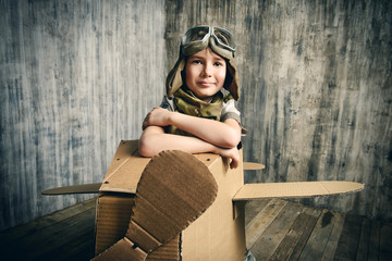 boy aviator