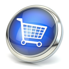 Shopping icon 3D
