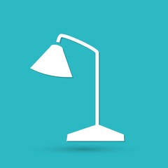 Vector Table Lamp Icon