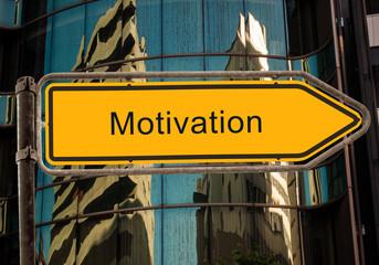 Strassenschild 42 - Motivation