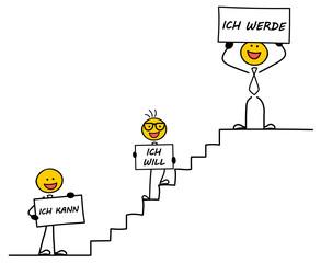Strichmännchen Motivation