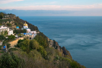 St George Monastery at Cape Fiolent near Sevastopol, Crimea