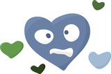 Miserable Heart Symbol poster