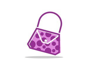 polka dot women bag