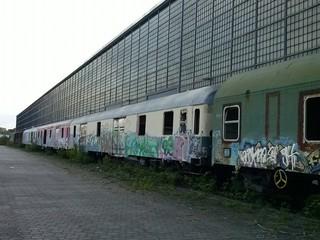 Alter Personenzug