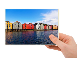 Norway travel photography in hand (Trondheim)