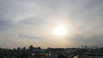 Beautiful sunset timelapse