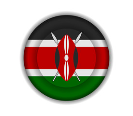 button flags kenya