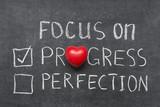 focus on progress - 83494031