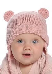 baby little girl portrait
