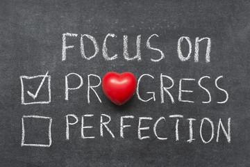 focus on progress