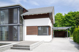 modernes Haus - Eingangsbereich