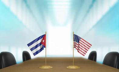 United States and Cuba economic trade deal talks