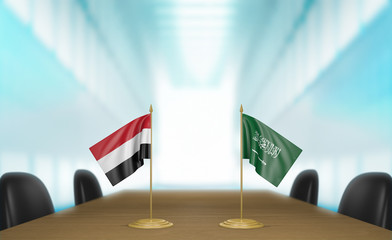 Yemen and Saudi Arabia economic trade deal talks