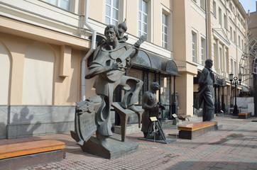 Московский музей современного искусства на улице Петровка