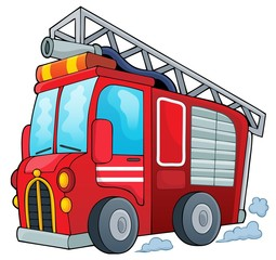 Fire truck theme image 1