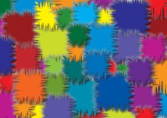 sfondo quadrati colorati