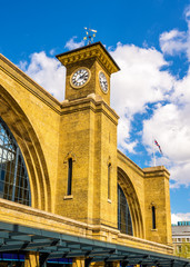 King's Cross railway station in London - England