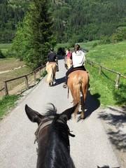andare a cavallo maneggio