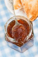 Oxford Marmalade made with dark sugar and molasses