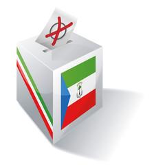 Wahlbox Äquatorialguinea