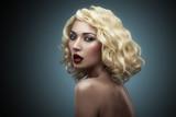beauty blonde shoulder