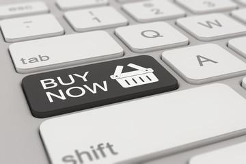 Tastatur - buy now - schwarz