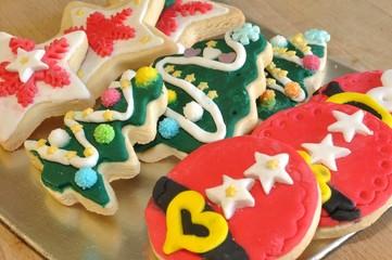galletas de mantequilla decoradas por niños