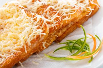 Hungarian Toast - Egg coated bread slice