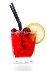Cherry amaretto sours