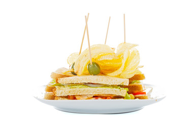 Chips sandwich