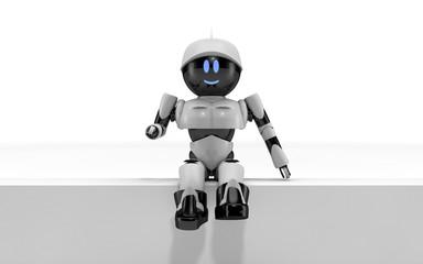 Robot seduto