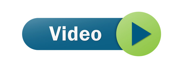 Blue and Green VIDEO vector web button