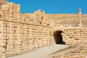 Ancient Jerash Jordan