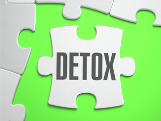 Detox - Jigsaw Puzzle with Missing Pieces.