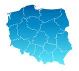Karte Polen
