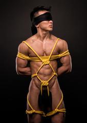 Model in bondage