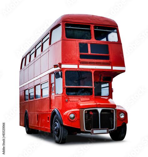 Poster Alter Londoner Bus